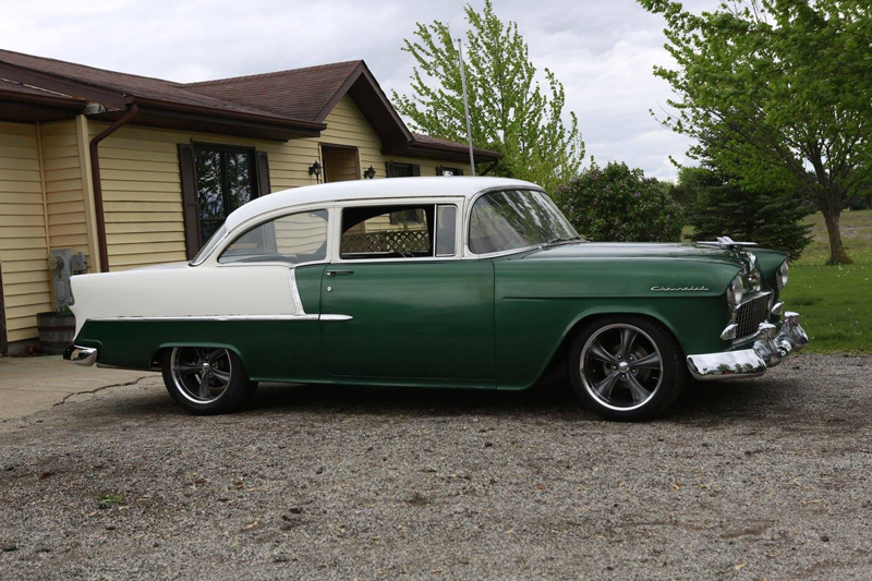 1955 Chevy 210 Wrap Up