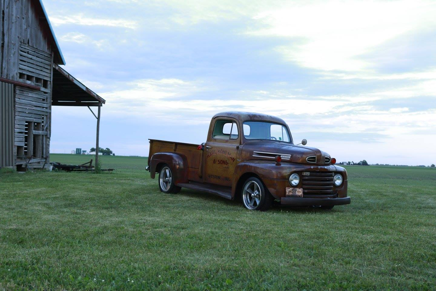 1950 Ford F3 Wrap-Up