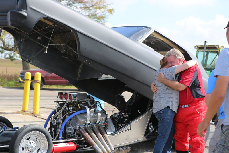 67 nova funny car episode wrap up garage squad for How big is two car garage