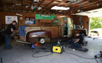 Out of the Garage: 1950 Ford F3