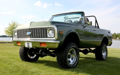 #TransformationTuesday: Garage Squad saves a 1971 Chevrolet Blazer