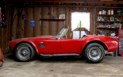 #TransformationTuesday: 1965 AC Cobra Replica