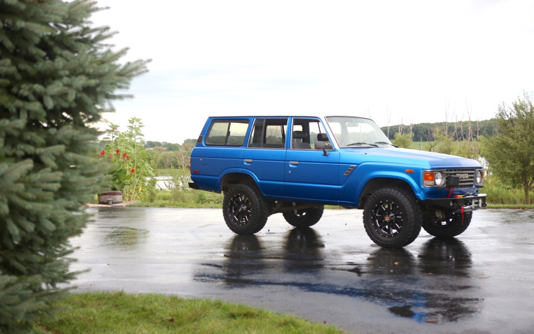 #TransformationTuesday: 1987 Toyota Land Cruiser